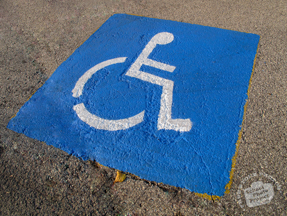 disabled parking sign, handicap sign, wheelchair sign, disability parking space, roadsign, free photo, picture, free images download, stock photography, stock images, royalty-free image