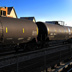 oil train, cargo train picture, free stock photo, royalty-free image
