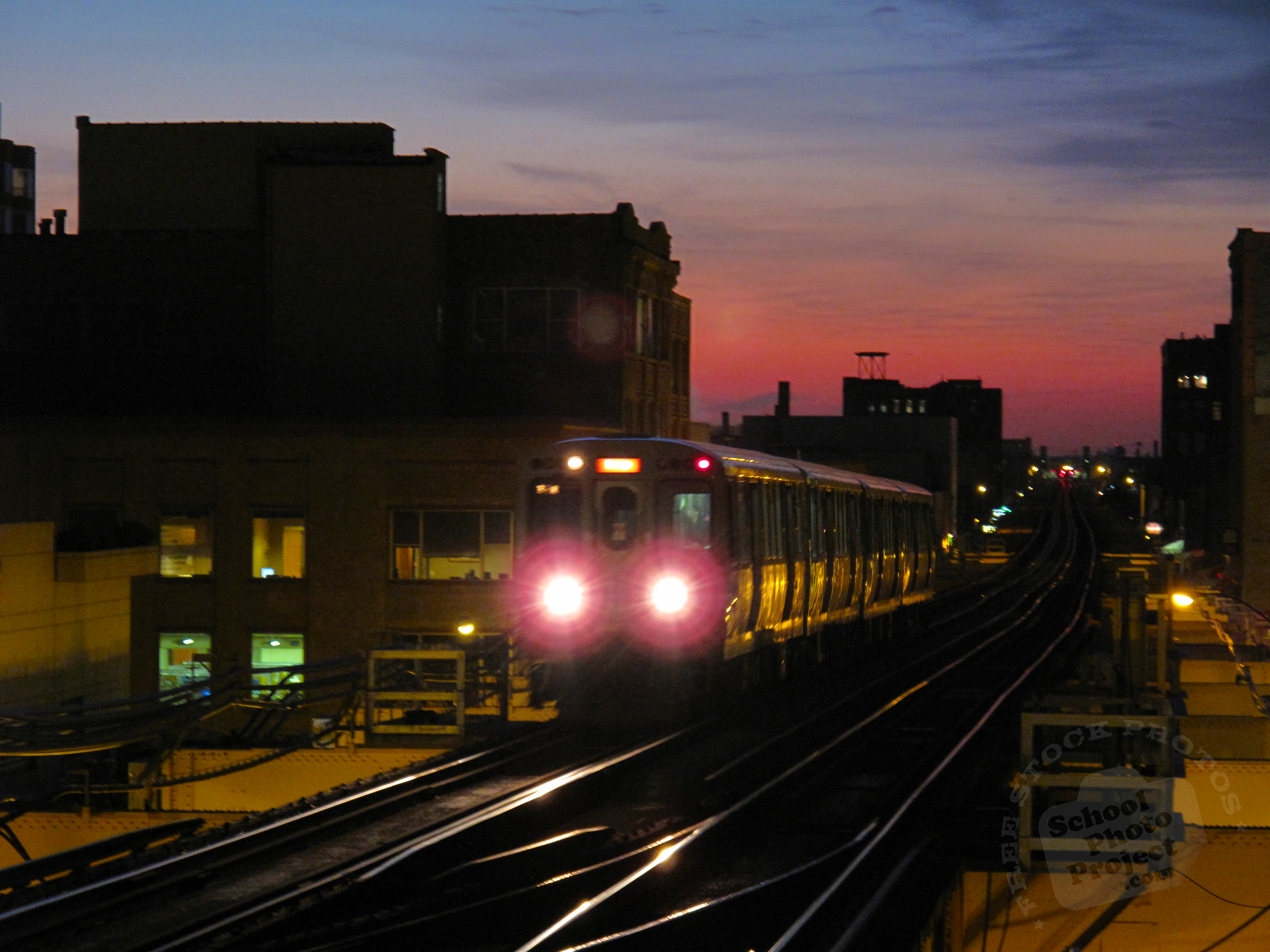 night train free stock photo image picture evening train