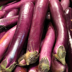 asian eggplant, purple long eggplant, vegetable photos, veggie, free stock photo, royalty-free image