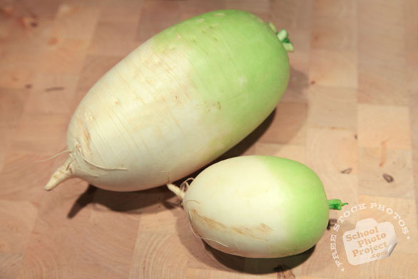 Korean radish, Asian radish, vegetable photos, veggie, free stock photo, royalty-free image