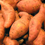 sweet potato, potato, vegetable, fresh veggie, vegetable photo, free stock photo, free picture, stock photography, royalty-free image