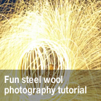 steel wool, steel wool photography, without flash photo, photo tutorial, lighting, studio lighting, photo technique, photo tips, video tutorials