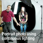continuous lighting, photo tutorial, lighting, studio lighting, portrait, portrait lighting, photo technique, photo tips