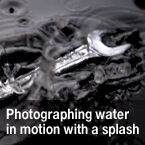 splash, splash photography, without flash photo, photo tutorial, lighting, studio lighting, photo technique, photo tips, video tutorials