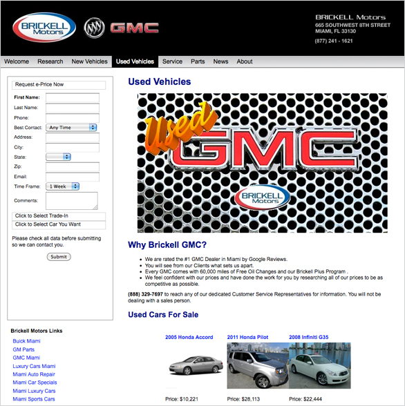 Project gallery gmc car logo royalty free stock photo for Brickell motors used cars