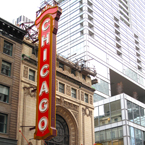 chicago theatre, chicago theater, entertainment building, performance, chicago downtown, classic architecture photo, building, free stock photos, free images, royalty-free image