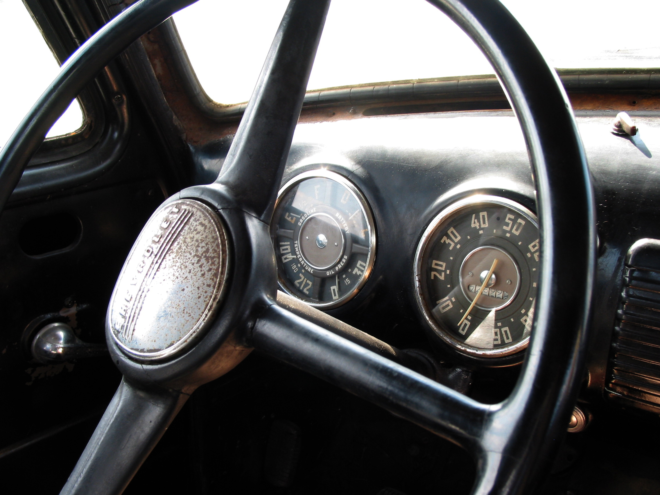 Steering Wheel, FREE Stock Photo, Image, Picture: Antique