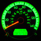 speedometer, car's dashboard, car, automobile, photo, free photo, stock photos, royalty-free image