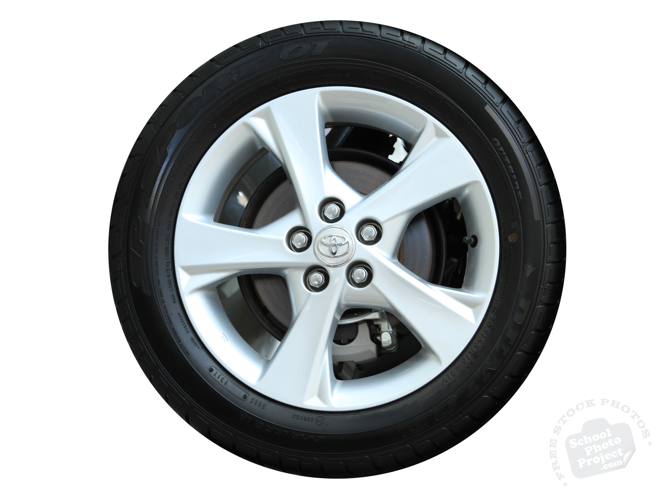 Car Tire, FREE Stock Photo, Image, Picture: Toyota Car