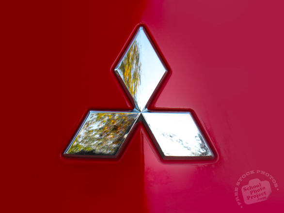 Mitsubishi logo, Mitsubishi brand, car logo, mark, car, auto, automobile, transportation, free foto, free photo, stock photos, picture, image, free images download, stock photography, stock images, royalty-free image