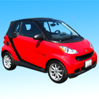 Smart Car, mini car, cool car, car, automobile, photo, free photo, stock photos, royalty-free image