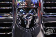 Dodge Ram logo, Chicago Auto Show, stock photos, free images, royalty free pictures