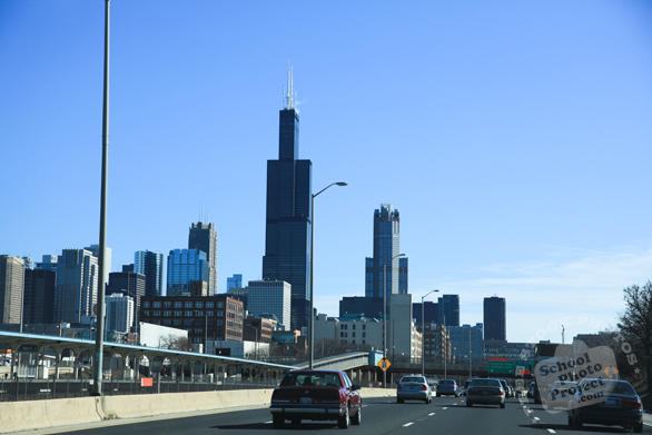 downtown Chicago, Willis Tower, Sears Tower, stock photos, free images, royalty free pictures