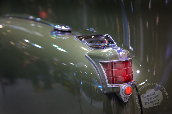 Military Cadillac, tail light, Chicago Auto Show, stock photos, free images, royalty free pictures