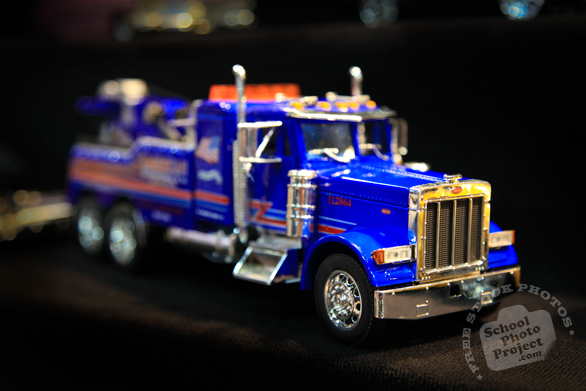 Peterbilt truck, toy car, Chicago Auto Show, stock photos, free images, royalty free pictures