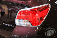 Subaru Impreza, tail light, Chicago Auto Show, stock photos, free images, royalty free pictures