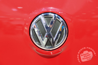 Volkswagen logo, VW brand, Chicago Auto Show, stock photos, free images, royalty free pictures