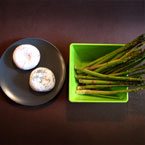 rice cake, asparagus, fresh food, Asian Food, bowl, plate, food photo, free photo, free stock photo, free picture, royalty-free image