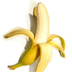 banana, peeled banana picture, free stock photo, royalty-free image