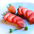 sliced strawberry, cut strawberry, stawberry photos, fruit photo, free stock photo, free picture, free image download, stock photography, stock images, royalty-free image
