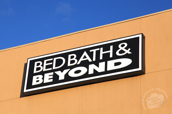 Bed Bath & Beyond, logo, brand, identity, free stock photo, free picture, stock photography, royalty-free image