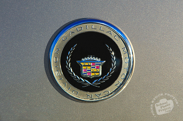 Cadillac, logo, brand, mark, car, automobile identity, free stock photo, free picture, stock photography, royalty-free image