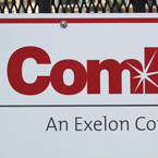 ComEd, logo, brand, identity, electricity, electric power, free stock photo, free picture, stock photography, royalty-free image