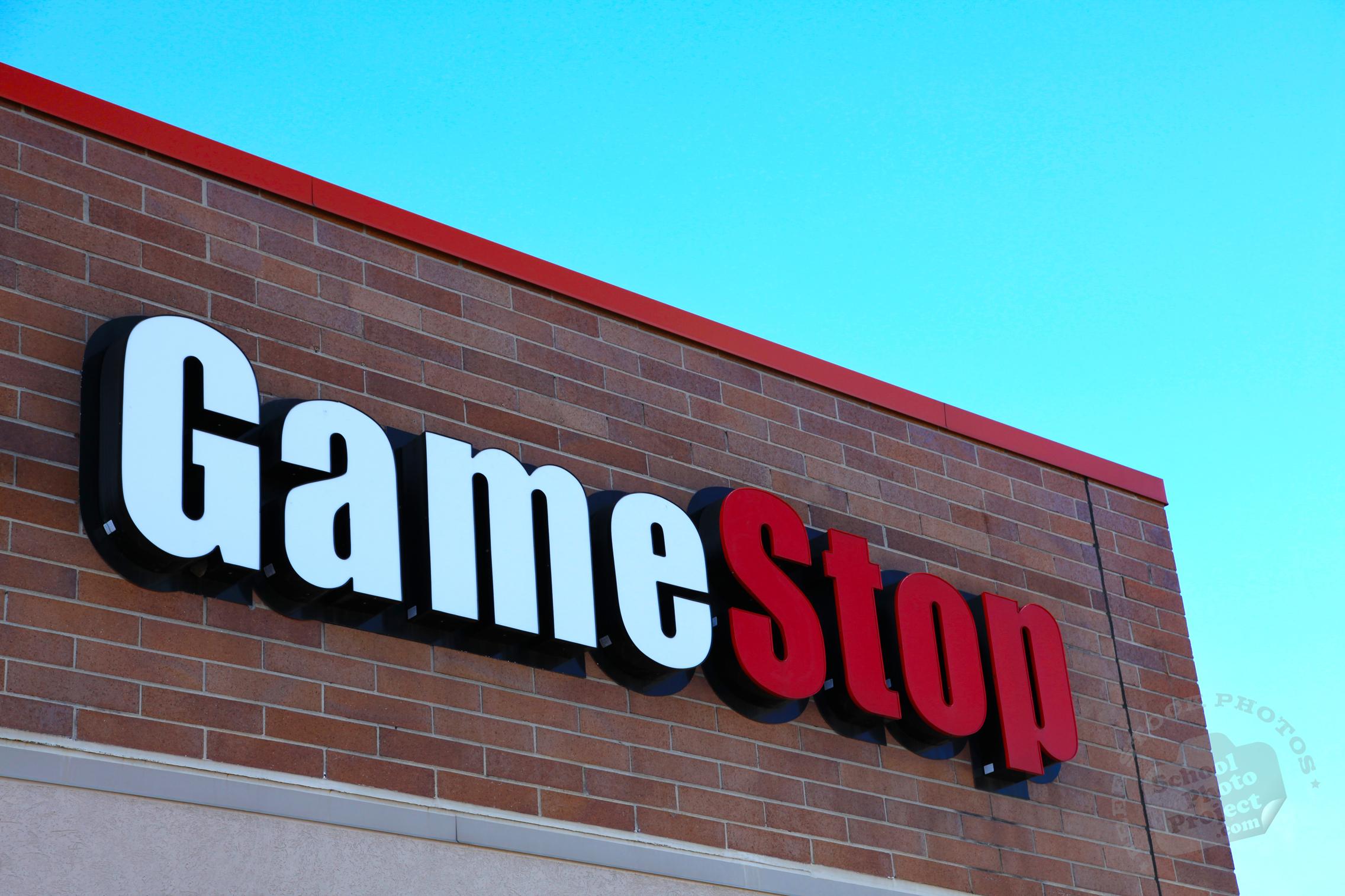 FREE GameStop Logo, GameStop Identity, Popular Company's ...