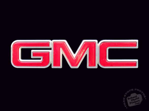 GMC, General Motor Company, logo, car, automobile identity, free stock photo, free picture, stock photography, royalty-free image