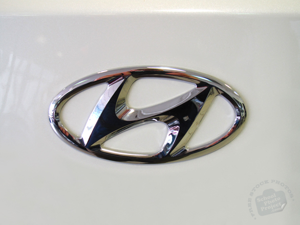 Hyundai, logo, brand, mark, car, automobile identity, free stock photo, free picture, stock photography, royalty-free image