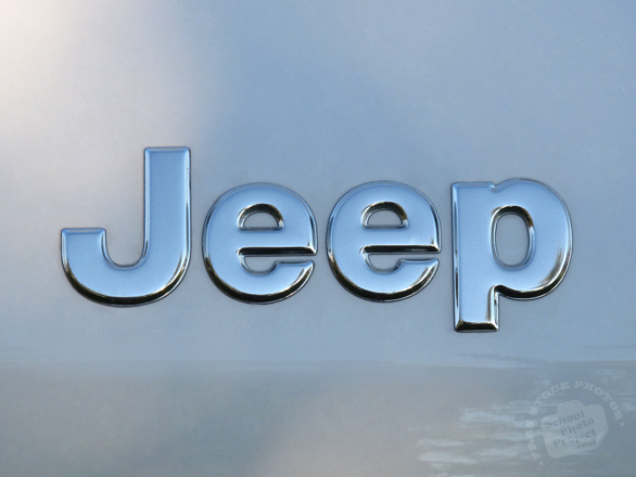 Jeep, logo, brand, mark, car, automobile identity, free stock photo, free picture, stock photography, royalty-free image