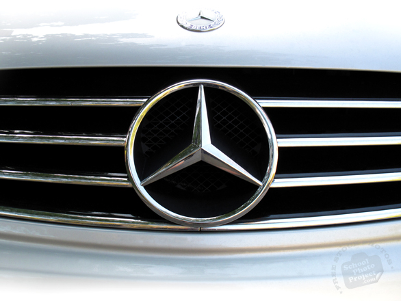 Mercedes-Benz, logo, brand, mark, car, automobile identity, free stock photo, free picture, stock photography, royalty-free image