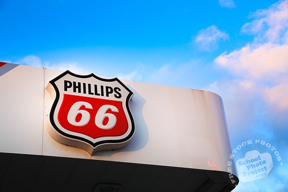 Phillips 66 logo, Phillips 66 brand, Phillips 66 product seal, corporate identity image, logo photo, free logo mark, free stock photo, free picture, royalty-free image