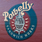 Potbelly, logo, brand, identity, restaurant logo, identity, free logo mark, free stock photo, free picture, stock photography, royalty-free image