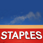 Staples, logo, brand, identity, free logo mark, free stock photo, free picture, stock photography, royalty-free image