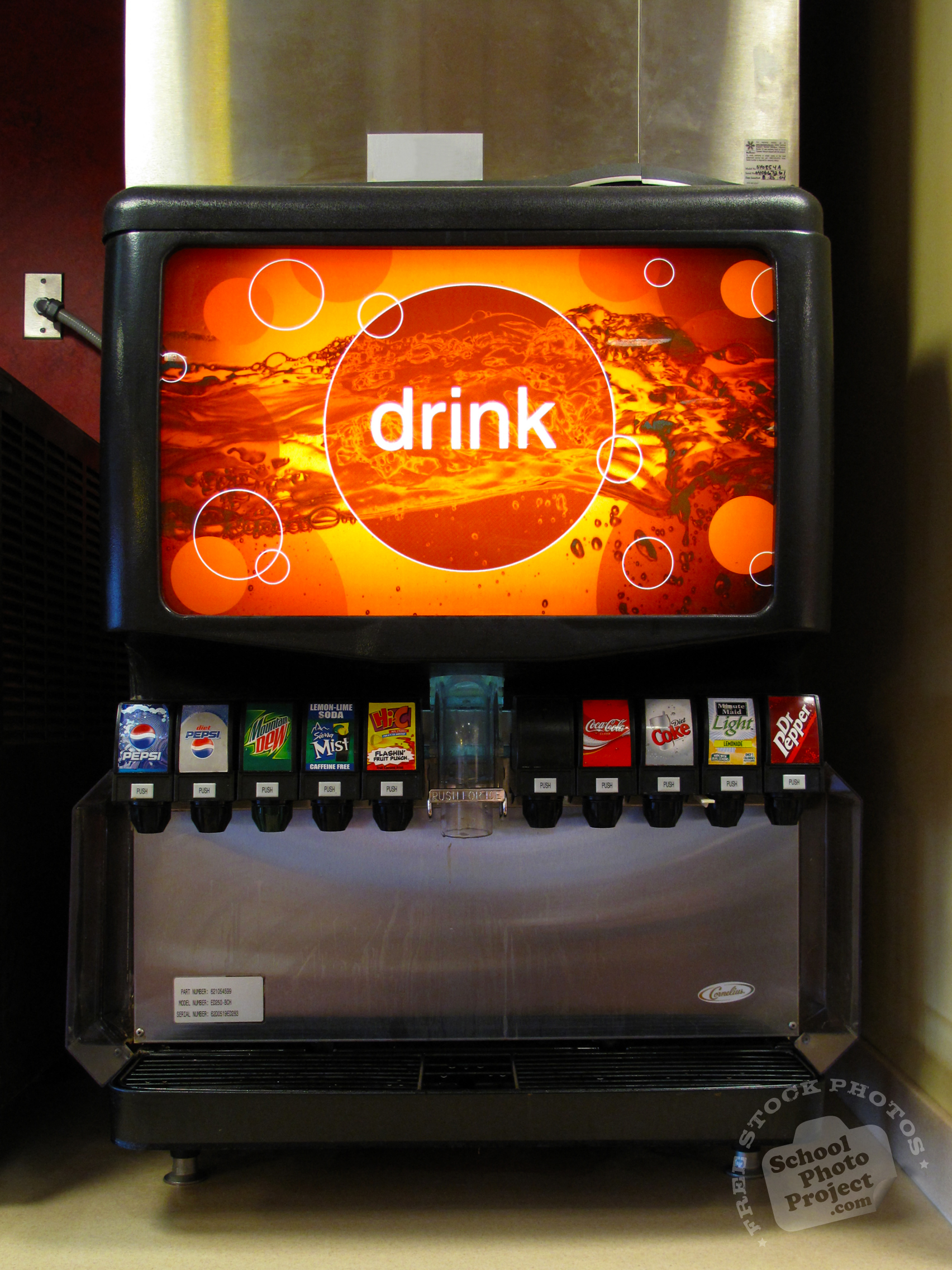 Soda Fountain Free Stock Photo Image Picture Soft