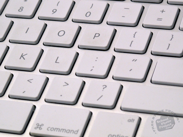 keyboard, computer keyboard, Apple computer keyboard, daily objects, daily items, stock photos, free foto, free photos, free images download, stock photography, stock images, royalty-free image