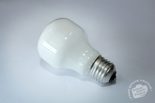 light bulb, soft white light bulb, incandescent bulb, lighting fixture, daily objects, stock photos, free foto, free photos, free images download, stock photography, stock images, royalty-free image