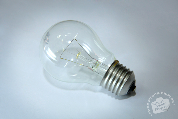 light bulb, clear light bulb, incandescent bulb, lighting fixture, daily objects, stock photos, free foto, free photos, free images download, stock photography, stock images, royalty-free image