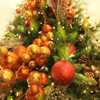 Christmas tree, Christmas decoration, Christmas ornaments, Xmas celebration, bauble, religious holiday, seasonal picture, holidays celebration, free stock photo, free picture, stock photography, royalty-free image