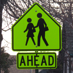sign, school crossing sign, picture, free stock photo, royalty-free image